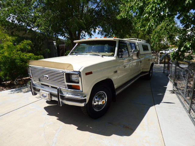 1986 Ford F-350 XL Crew Cab Dually – SOLD