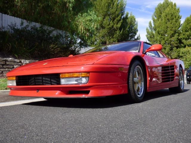 1990 Ferrari Testarossa Selling Assistant Consignment Vehicles For