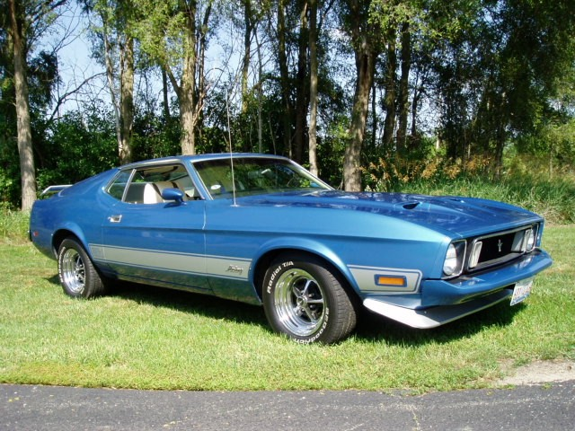 sold 1973 ford mustang mach 1. Black Bedroom Furniture Sets. Home Design Ideas