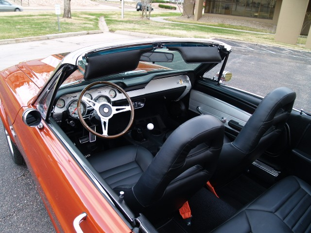 Sold Gt 1967 Ford Mustang Gte 500 Orange Eleanor Convertible