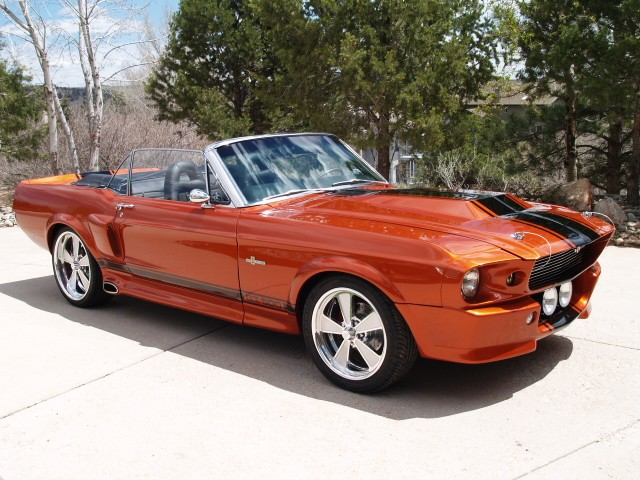 sold 1967 ford mustang gte 500 orange eleanor convertible. Black Bedroom Furniture Sets. Home Design Ideas