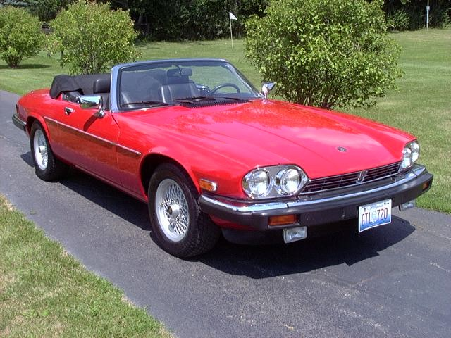 Sold 1990 Jaguar Xjs V12