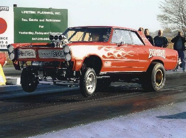 Sold Gto 1965 Gto Drag Car Multi Show Winner S Fx Zombie