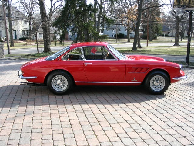 sold 1967 ferrari 330 gtc restored. Black Bedroom Furniture Sets. Home Design Ideas