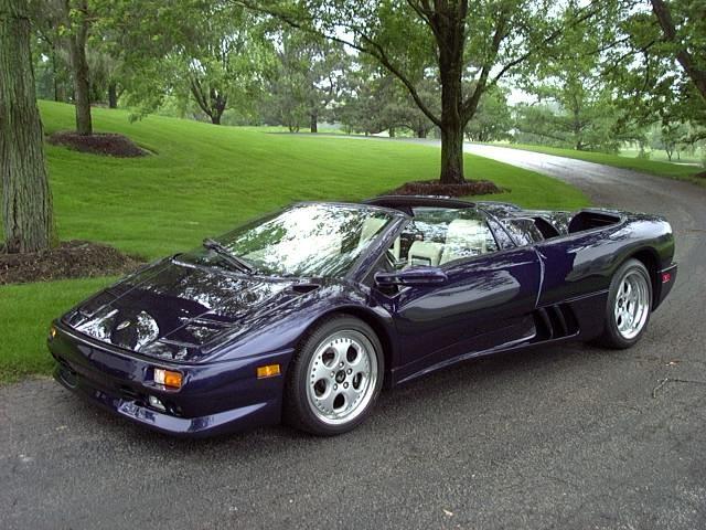 1997 lamborghini diablo vt roadster