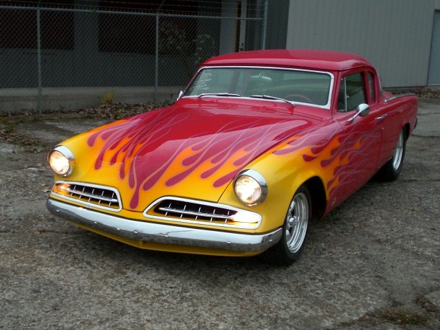 SOLD >1954 Studebaker Champion, Show Car Chopped Top