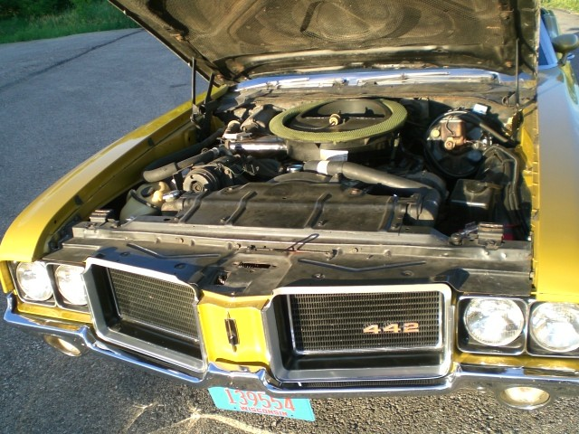 Quality Auto Parts >> SOLD >1972 Oldsmobile Cutlass 442 Ram Air W-30 Equipped