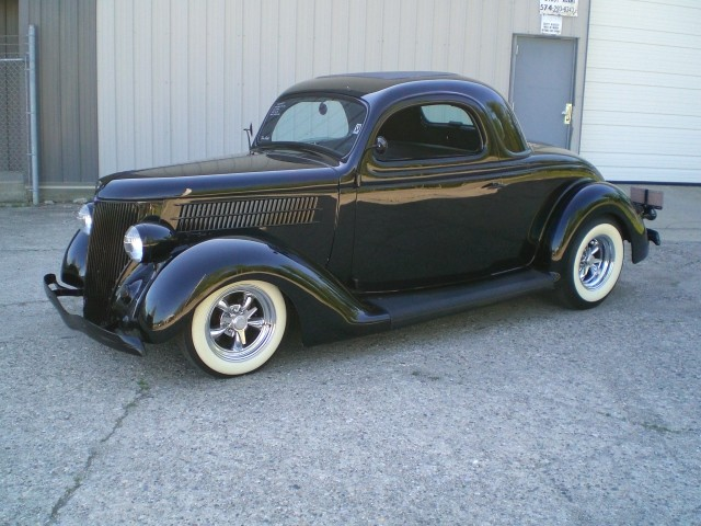 Sold 1936 ford 3 window steel coupe for 1936 ford 3 window