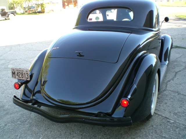 SOLD >1936 Ford 3 Window Steel Coupe