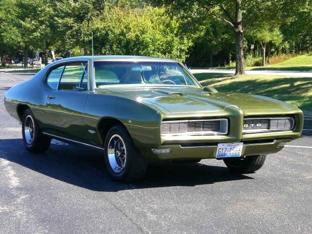 1968 Pontiac Gto Restored S Matching Automatic Air Cond Selling