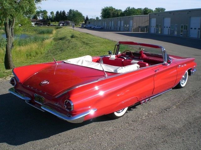 1960 Buick Finned Convertible