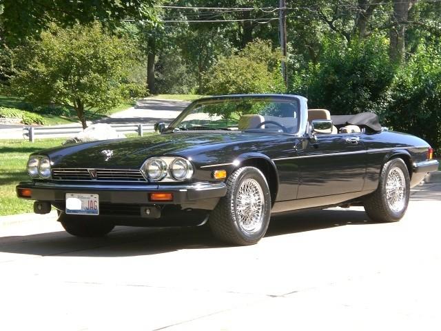 1990 jaguar xjs convertible value