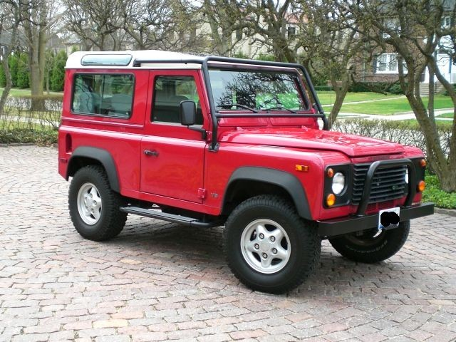1997 Land Rover Defender 90 Hardtop Automatic Air Cond. Low Miles