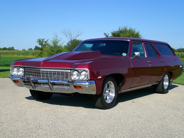 SOLD >1970 Chevrolet Big Block Custom Wagon
