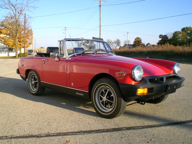 1976 MG Midget 10K Original Miles, Original Condition