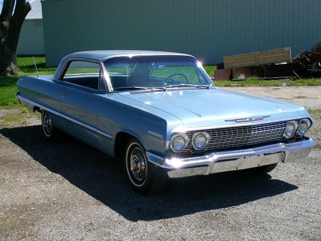 1963 chevrolet impala unrestored original 84k mile car. Black Bedroom Furniture Sets. Home Design Ideas