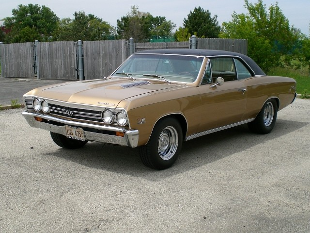 SOLD >1967 Chevelle SS 396 Restored #'s Matching Motor Review Video