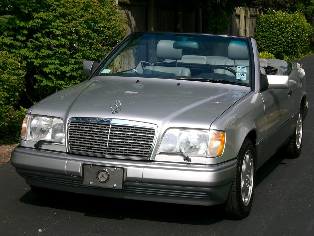 Sold 1994 mercedes e320 cabriolet 2 owner car with only for Mercedes benz e350 for sale by owner