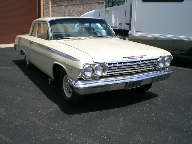 SOLD >1962 Chevrolet Bel Air 409 4 spd. Restored Review Video