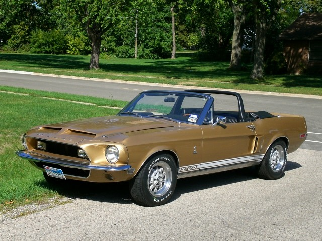 sold 1968 mustang shelby gt500 convertible collector car. Black Bedroom Furniture Sets. Home Design Ideas