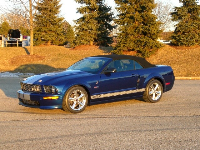SOLD >2008 Shelby GT/ SC Limited Production Supercharged Convertible