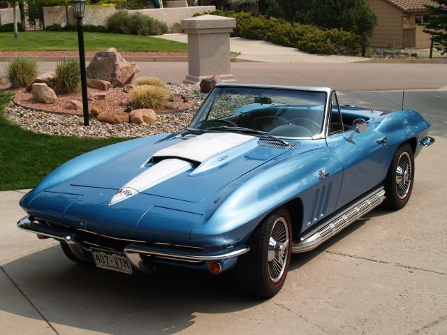sold 1965 corvette stingray roadster zz4 v8 side pipes knock off 39 s 4 speed. Black Bedroom Furniture Sets. Home Design Ideas