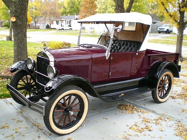 SOLD >1927 Ford Model T Roadster Pick-Up Body-off Restoration