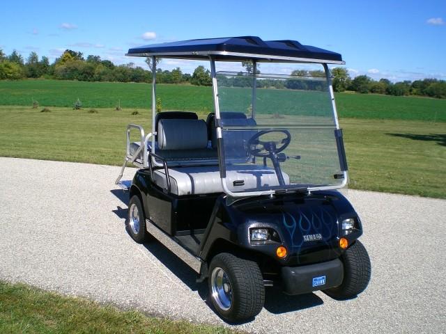 Used Car Haulers For Sale >> SOLD >2002 Yamaha Custom Golf Cart