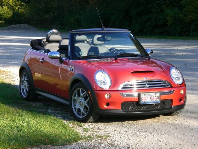 Sold 2006 Mini Cooper S Convertible Hot Orange Metallic 20k Miles Rare Find