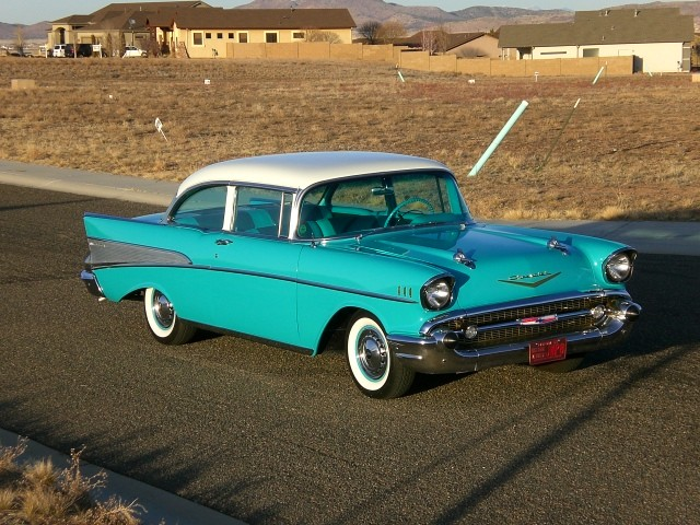 1957 Chevy Bel Air Frame Off Restored Selling Assistant