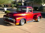 1956 Ford Factory Big Rear Window F-100 Customized Show Truck Cobra V8 Motor
