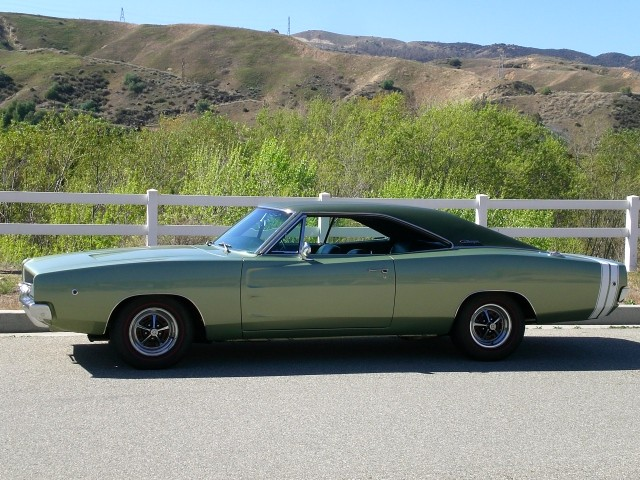 Sold >1968 Dodge Charger Restored 3 Owner Documented