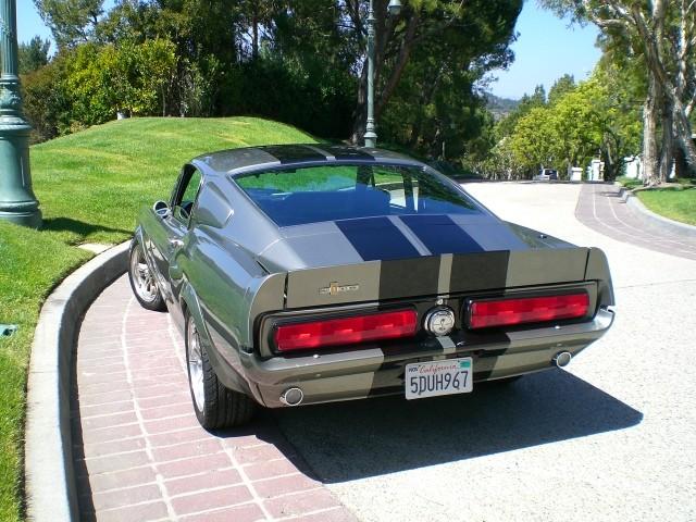 sold 1967 eleanor 6 spd gt500e fastback gone 60 sec. Black Bedroom Furniture Sets. Home Design Ideas