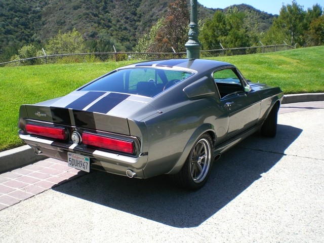 sold 1967 eleanor 6 spd gt500e fastback gone 60 sec. Black Bedroom Furniture Sets. Home Design Ideas
