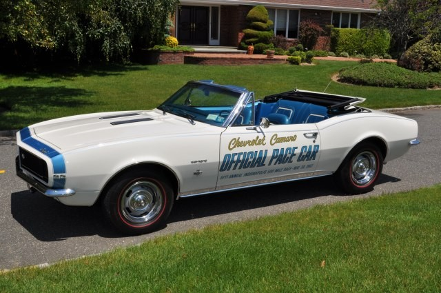 Sold >1967 Camaro SS/RS 350 Convertible Indy 500 Pace Car Edition