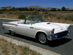 Sold >1957 Ford Thunderbird Roadster 312 V8, Automatic Air Condition-Rust Free Arizona Car