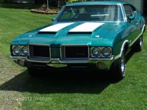 1971 Olds 442 W30 001