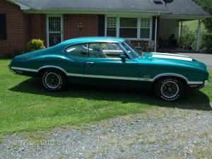 1971 Olds 442 W30 003