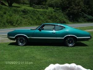 1971 Olds 442 W30 006
