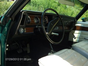1971 Olds 442 W30 011