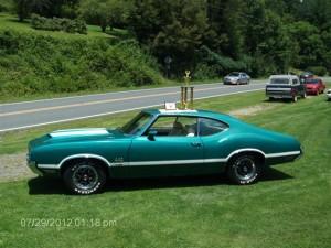 1971 Olds 442 W30 021