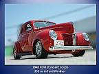 Sold >1940 Ford Coupe Street Rod Ford V8 Motor